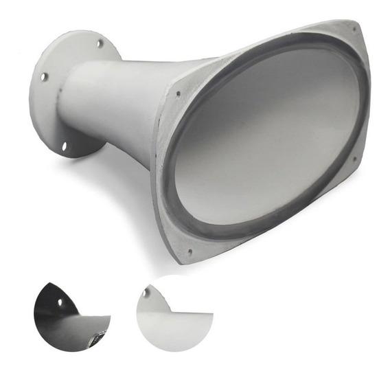Corneta Cone Alumínio Hl-2650 Longo Parafuso Boca Ovalada Md