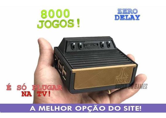 Atari Mini Com 8 Mil Jogos+ Snes + Megadrive + Ps1 + Master
