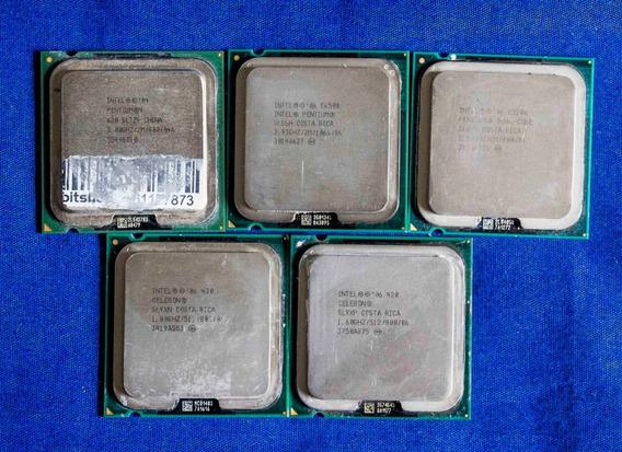 Lote De Processadores Celeron E Pentium Usados