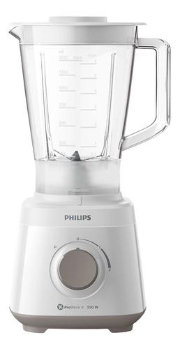 Licuadora Philips Daily Collection HR2129 con jarra de plástico 220V blanca
