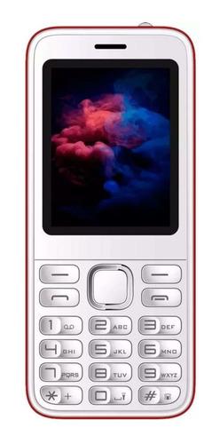 iPro A8 Dual SIM 32 MB Blanco/Rojo 32 MB RAM