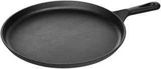 Amazonbasics Preasoned Iron Cast Round Griddle 105inch