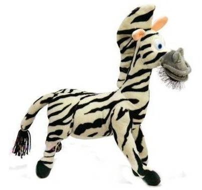 Boneco De Pelúcia Madagascar Zebra Marty 28cm - Exclusivo !