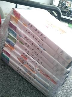 Coleção De Dvds Friends Preta 1 A 10(40 Dvds)