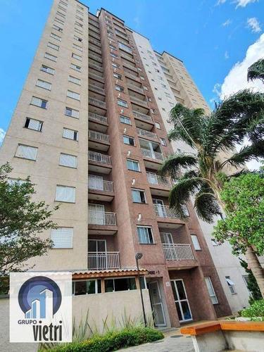 Apartamento Com 2 Dormitórios À Venda, 50 M² Por R$ 320.000 - Vila Barreto - São Paulo/sp - Ap4518