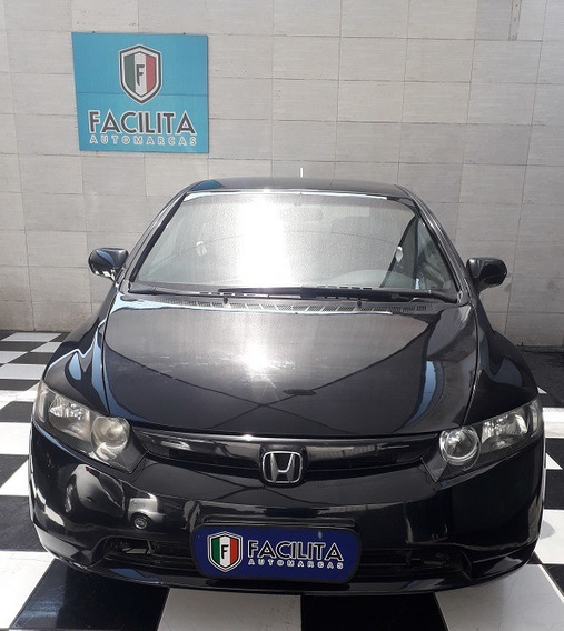 Honda Civic 1.8 Lxs Flex 4p Manual Completo Com Couro