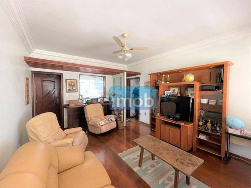 Imagem 1 de 22 de Apartamento Com 3 Dormitórios À Venda, 130 M² Por R$ 650.000,00 - Gonzaga - Santos/sp - Ap8056