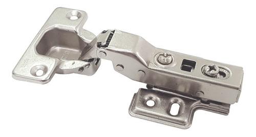 Bisagra Cierre Suave Muebles Codo 9 X 10 Unidades Con Clip