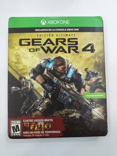 Gears Of War 4 Ultimate Edition - Xbox One - Sellado - Nuevo