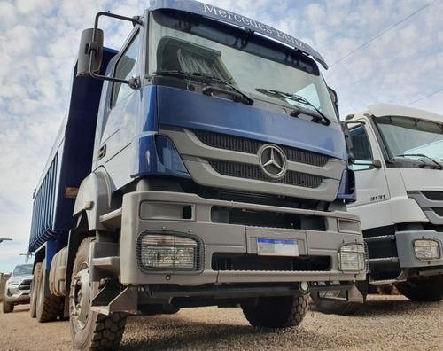 Mercedes-benz Axor 3344 6x4 Ano 2012 Caçamba Traçado