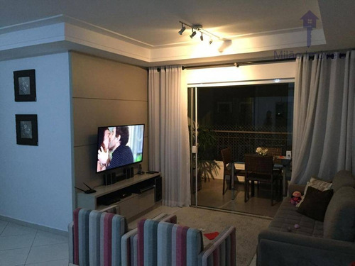 Imagem 1 de 30 de Apartamento 3 Dormitórios À Venda, 112m², Edifício Van Gogh, Pq. Campolim Em Sorocaba/sp - Ap0940