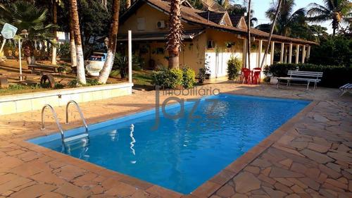 Chácara Cinematográfica Com 7 Dormitórios À Venda, 1150 M² Por R$ 650 - Chácara - Monte Mor/são Paulo - Ch0103