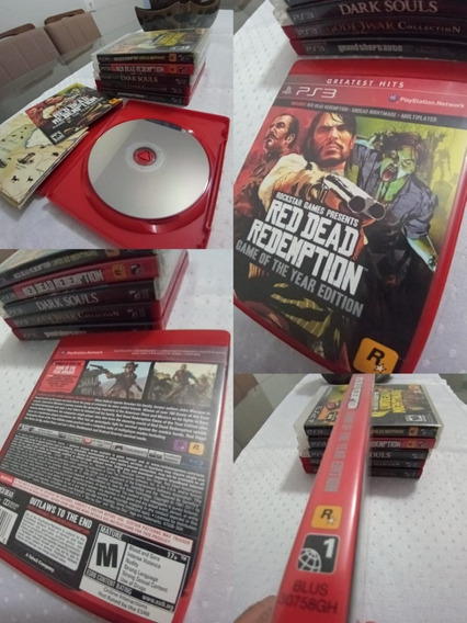 Red Dead Redemption Game Of The Year Edition Play3 Lp1#