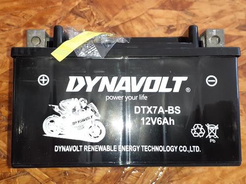 Bateria Moto Dynavolt 12v6ah