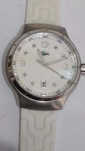 Relógio Lacoste Quartz Lc09. 3.14. 0060 Mostrador Madrepérol