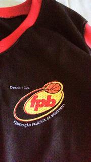 Camiseta Federação Paulista De Basquetebol