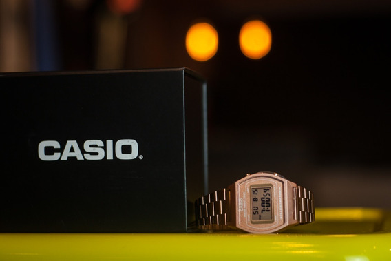 Relógio Casio Vintage Rose Modelo: A168wg-9wdf-sc
