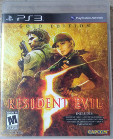 Resident Evil 5 Gold Edition - Ps3 - Frete Grátis