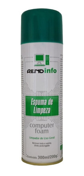 Espuma Limpeza Antiestática Rendinfo Spray Foam 300 Ml Pro