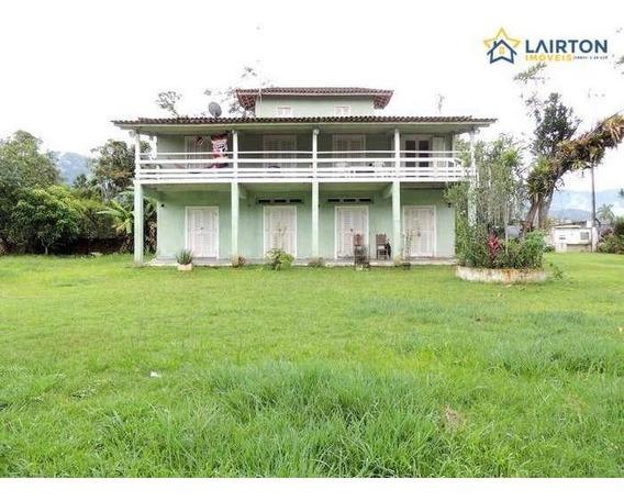 Chácara Com 4 Dormitórios À Venda, 1000 M² Por R$ 380.000,00 - Tabatinga - Caraguatatuba/sp - Ch1315