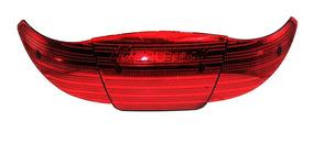 Lente Vermelha Baú Bauleto Smart Box Protork 45 Litros