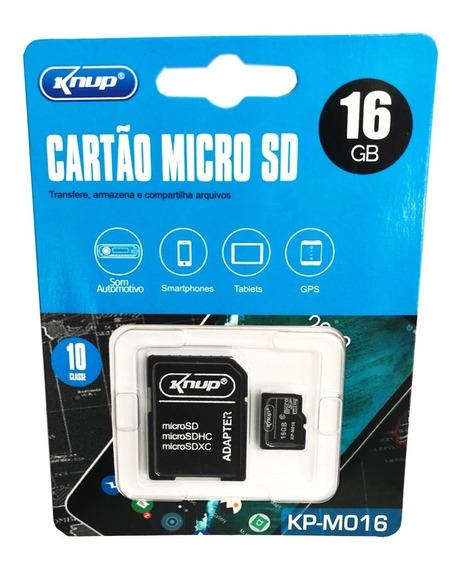 Cartão De Memória Ultra Microsd Classe10 16gb Knup Kp-m16