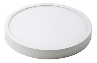 Plafon Led 18w Aplicar Panel Redondo Circular Frio O Calido
