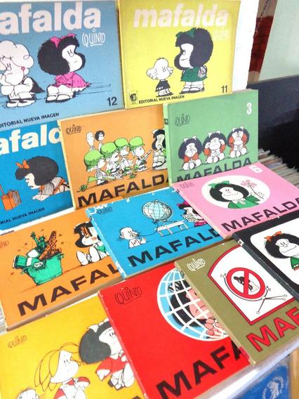 Mafalda Lote 12 Revistas Antigas Em Espanhol Raras