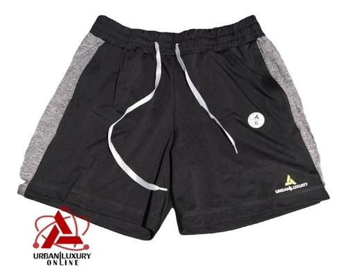 Imagen 1 de 3 de Short Corto Deportivo Fitness Entrenamiento Hombre
