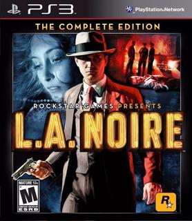 La Noire Complete Edition Ps3- Play Mexico