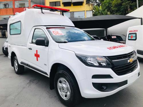 S10 Ambulância 4x4 - Suporte Basico