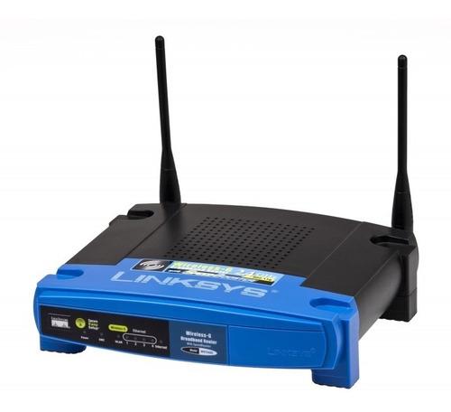Router Linksys Wrt54g3gv2-st, Wireless-g (802.11g), Mobile