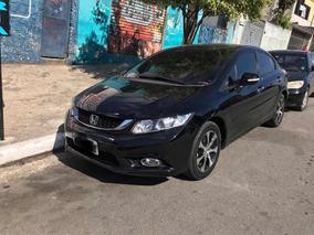 Honda Civic 2.0 Exr Flex Aut. 4p 2014 Com Teto Solar