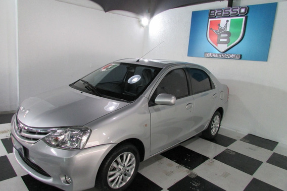 Toyota Etios Sedan 2013 Xls 1.5 Flex Manual