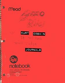 Kurt Cobain Journals - Diários - Livro Importado
