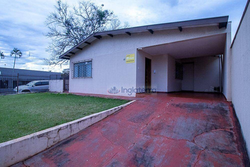 Imagem 1 de 22 de Casa À Venda, 113 M² Por R$ 450.000,00 - Jardim Petrópolis - Londrina/pr - Ca2201