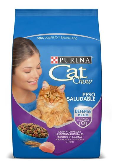Purina® Cat Chow® Peso Saludable 3kg + Regalos