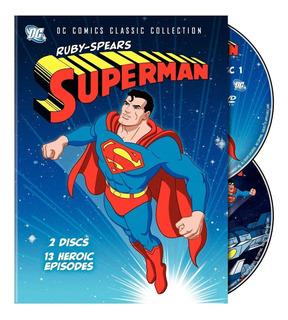 Dvd Superman Ruby Spears 1988 - Completo E Dublado