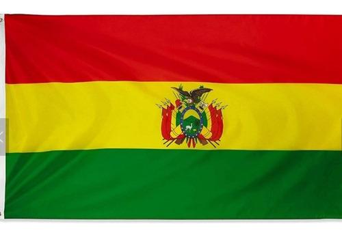 Imagen 1 de 3 de Bandera De Bolivia 150 Cm X 90 Cm