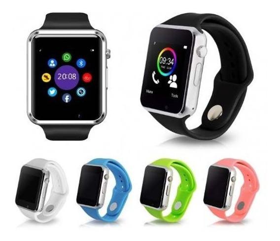 Smart Watch A1 Reloj Inteligente Bluetooth Sim Camara 10 Pz