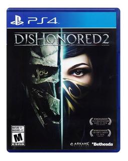 Dishonored 2 Ps4 Nuevo Fisico Español