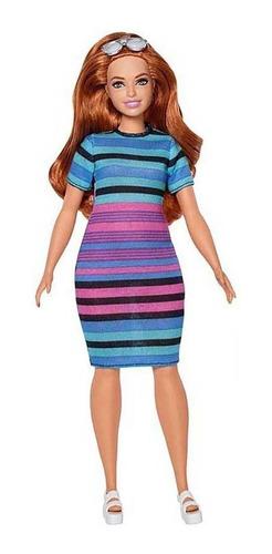 Imagen 1 de 7 de Muñeca Barbie Fashionista 84 Y Ropa Mattel Cod Fjf69 Bigshop