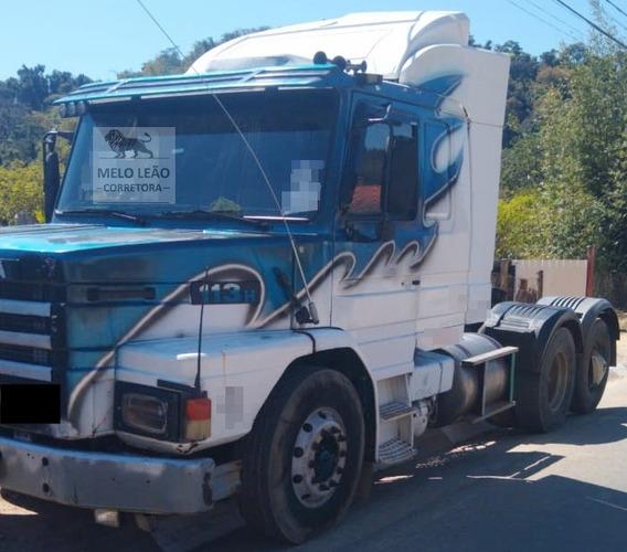 Scania T-112 Hw 360 - 89/90 - Cavalo Truck, Câmbio Da 124