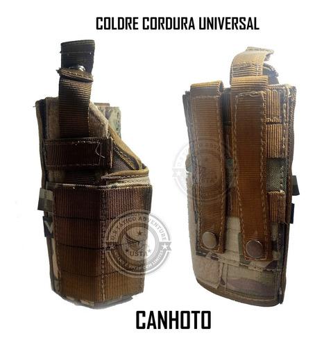 Coldre Modular Em Cordura Universal Tactical Dacs -canhoto