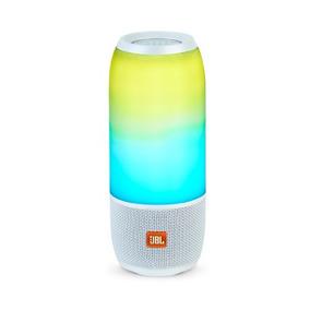 Caixa De Som Portátil Jbl Pulse 3 Com Bluetooth Branca