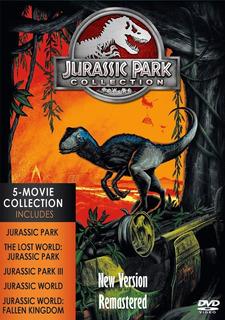 Jurassic Park Dvd Coleccion Remasterizada Latino 5.1