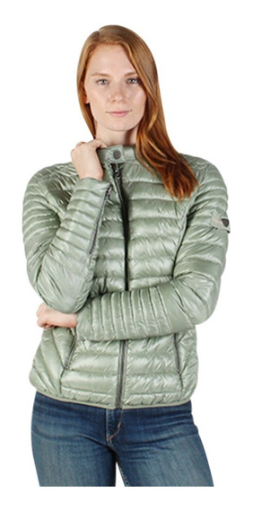 Chamarra Mujer Greenlander Pol6776 Moda Metalizada