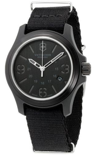 Relógio Suíco Victorinox Swiss Army All Black Field Watch