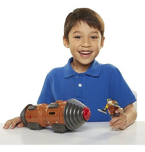 The Incredibles 2 Tunneler Vehicle Play Set Con Junior Super