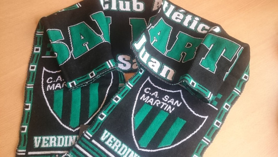 San Martin De San Juan Camiseta Bufanda Hilo Tense